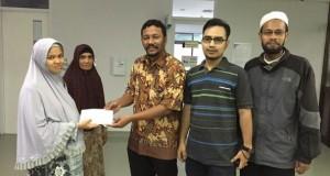 Ikat Aceh Berikan Bantuan pada Sabira Hurin Ien