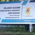 [Foto] Persiapan Sambut Jokowi di Arun