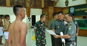 23 Calon Taruna/Taruni Akmil Ikut Sidang Pantukhir di Kodam IM