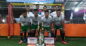 Turnamen Futsal KNPI Aceh Tengah Cup Usai, ini Kampiunnya