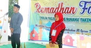 Ramadhan Fair Remaja Masjid Ruhama' Takengon Dimulai
