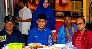 Ketua PDIP Aceh Bertemu Nova Iriansyah di Tamiang