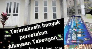 Percetakan Alkaysan Berbagi Rezeki di Bulan Ramadhan
