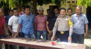 Polres Agara Bekuk Bandar Sabu