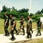 Danrem 012/TU Kunjungi Kompi Senapan A Yonif 116/GS