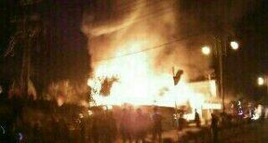 HPMS UIN Ar-Raniry Serahkan Bantuan Korban Kebakaran di Lamru