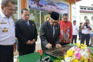 Gubernur Resmikan Gedung VIP Pemerintah Aceh di Bandara SIM