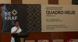 Pemerintah Aceh Tandatangani MoU Pengembangan Ekonomi Kreatif