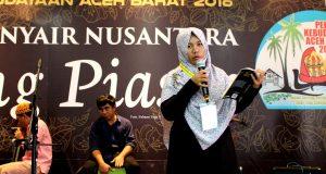 [foto] Ekspresi Para Penyair Gayo Baca Puisi di TP 4 Negara