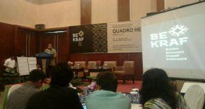 Bekraf Gelar FGD Quadro Helix di Banda Aceh, Pelaku Ekraf dari Gayo Turut Serta