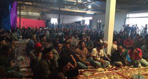 [Foto] Massa Pendukung Alamsyah-Anda Solidkan Tim Pemenangan