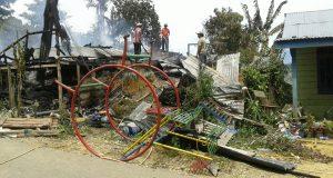 Gereja Terbakar di Agara