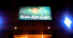 Besta Kopi Gayo; Cafe dengan Sentuhan Futuristik di Tangerang