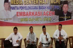 Media Centre Jamaah Haji Aceh