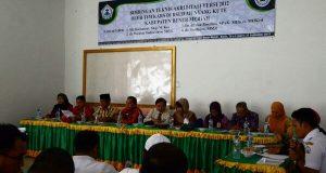 KARS Narasumber Bimtek Akreditasi Versi 2012 di RSU Muyang Kute