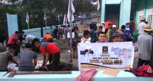PKS Aceh Tengah Gelar Qurban Idul Adha 1437 H