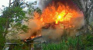 Kebakaran di Kota Panjang Hanguskan Satu Rumah