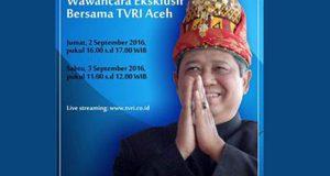 Demokrat Aceh Gelar Nobar Wawancara Eksklusif SBY di TVRI Aceh