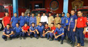 4 dari 10 Armada Damkar Aceh Tengah Stand By di Kecamatan
