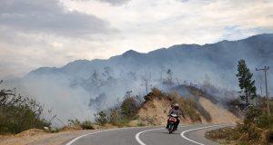 [foto] Hutan Serule Terbakar