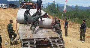 Satgas TMMD Aceh Tengah Bekerja Tanpa Mengenal Lelah