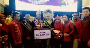 Putra Gayo 'Fadli Nora Iranda' Dinobatkan Duta Wisata Aceh 2016