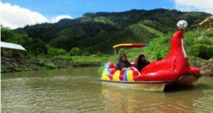 Pelale Nate Tempat Wisata Baru di Bantaran Sungai Peusangan