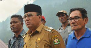 Api Bakar Cacthment Area Lut Tawar, Pak Nas; Damkar dan Kesehatan Siaga 24 Jam