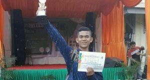 Terbaik di Unsyiah, Fachrul dari Gayo Lues melaju ke MTQN Universitas di Yogya