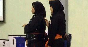 Di Pospenas Pesilat Putri Aceh Lolos ke Babak 8 Besar