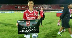 Atta…! Putra Gayo ini Lulus Seleksi Klub Bali United