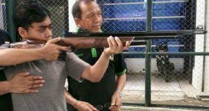 Penyandang Disabilitas Turut Serta Latihan Menembak Bersama Elang Muda