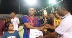 Tim Volly Kemenag Aceh Juara 3 di Singapore VC