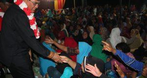 Pak Nas Disambut Antusias di Aceh Tenggara