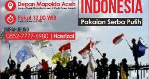 Tuntut Adili Ahok, Barisan Muda Islam Aceh Lakukan Aksi di Mapolda Aceh