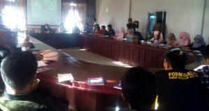 Bukan Kampanye, Usman Nuzuly-Bukri Bedah Visi Misi Bersama Mahasiswa
