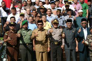 Apel Kebhinnekaan di Aceh Tengah