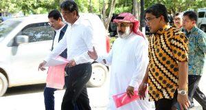 The Saudi Fund for Development Tinjau Pelaksanaan Proyek di Unsyiah