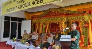 Pangdam IM Dukung Maklumat Kapolda Aceh