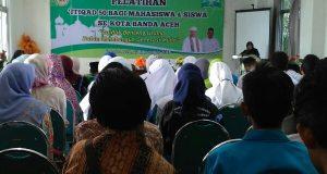 PCNU Banda Aceh Gelar Pelatihan I'tiqad 50 Bagi Siswa dan Mahasiswa