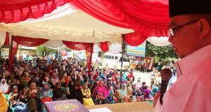 Di Lhokseumawe, Zaini Abdullah Kembali Sindir Dana untuk Eks Kombatan