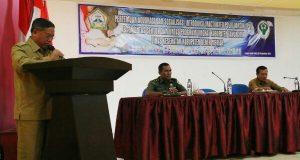 Hasanuddin Darjo Buka Pertemuan Advokasi dan Sosialisasi Introduksi IPV