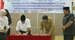 Aceh Tengah Terima LHP Kinerja dari BPK