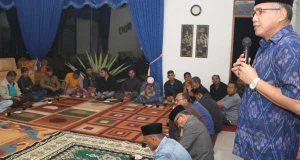 Silaturahmi di Pinangan, Nova Iriansyah: Suara Rakyat Gayo Harus Seragam