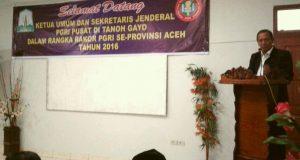 Kakanwil Kemenag Aceh; PGRI Diharap Telurkan Solusi Pendidikan Aceh