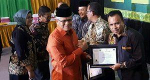 Sukses Membina UMKM, Aceh Tengah Raih Penghargaan Produktivitas Siddhakarya