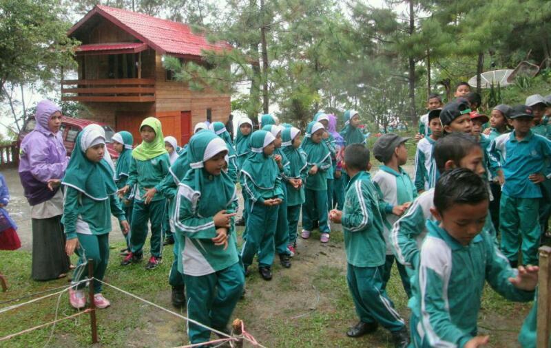 Outbond Sekolah Dasar Islam Terpadu (SDIT) Cendikia Takengon