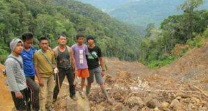 [foto] Lokasi Banjir Bandang Pining 2006 dan 2012