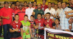 Derre Pration Juara Voli Piala Bupati Aceh Utara 2016