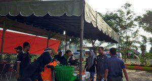 Posko Kemenag Sediakan Ratusan Porsi Makan untuk Relawan Gempa Pijay